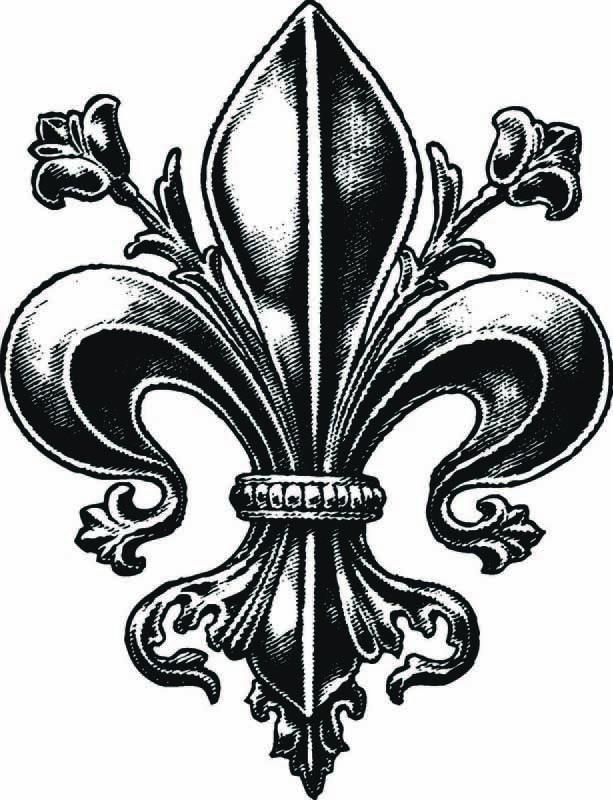 Best  Fleur De Lis Tattoo Ideas On   New Orleans